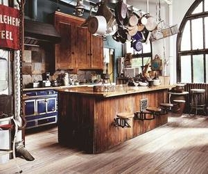 country, kitchen, and rustic image