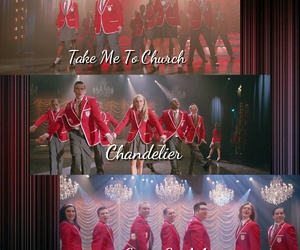 glee, glee club, and sectionals image