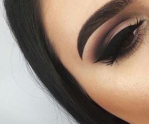 makeup, beautiful, and contour image