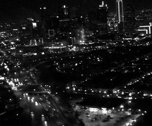 city, Dallas, and lights image