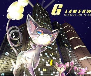 pokemon, rattata, and glameow image