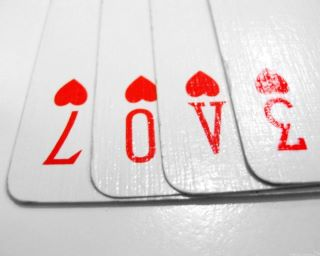 cards, numbers, and love image