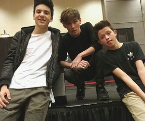 jacob sartorius, magcon, and carter reynolds image