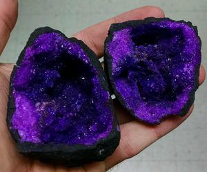 purple, stone, and crystal image