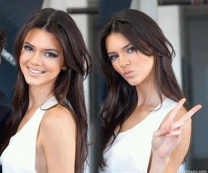 kendall jenner, jenner, and hair image
