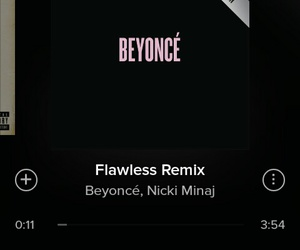 music, queen b, and spotify image