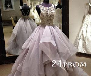 beautiful, evening dress, and fashion image