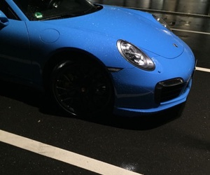 blue, car, and dope image