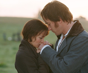 elizabeth bennet, mr darcy, and Pride & Prejudice image