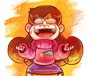 gravity falls, mabel pines, and weirdmaggedon image