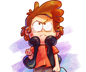gravity falls, dipper pines, and weirdmaggedon image