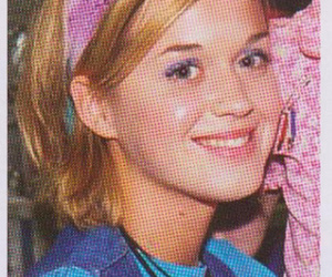 katy perry and a very young katy perry image