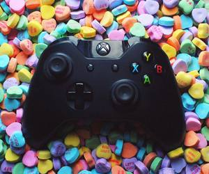 sweet tarts, Valentine's Day, and xbox image