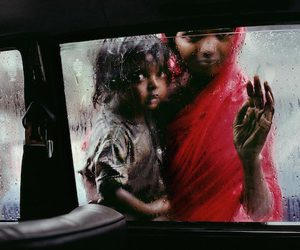 india, rain, and photography image