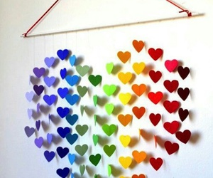 heart, diy, and hearts image