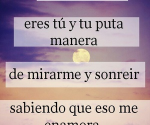 love, frases, and smile image