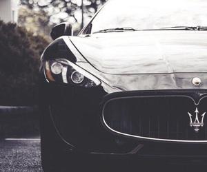 car, maserati, and black image