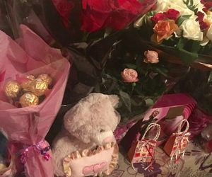 roses, valentines day, and love image