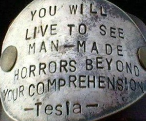 Tesla and quotes image