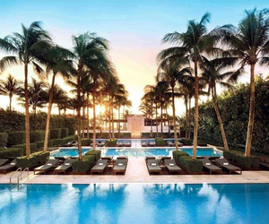 Miami and pool image