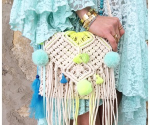 beachwear, lace, and lovely image