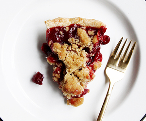 cherry, pie, and crust image
