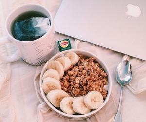 healthy, banana, and breakfast image