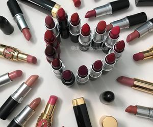 lipstick, beauty, and chanel image