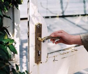 vintage, indie, and door image