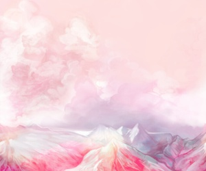 pink, art, and wallpaper image