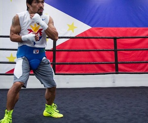 boxer, boxing, and Philippines image