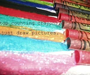 crayons, life, and photography image