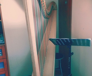 harp, music, and melody image