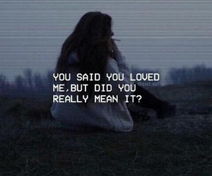 love, grunge, and quotes image