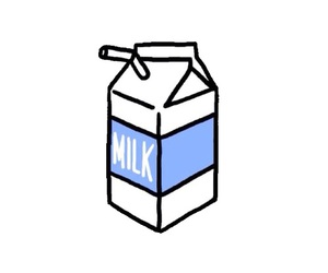 milk, aesthetic, and overlay image