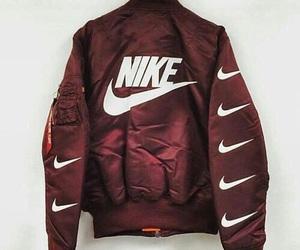 nike, fashion, and jacket image