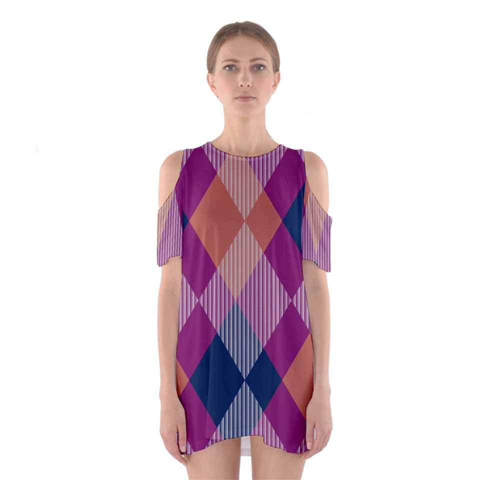 abstract, argyle, and dress image