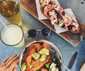 food, dinner, and fashion image