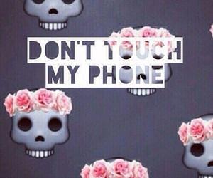emoji, phone, and wallpaper image