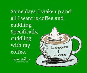 coffee, funny, and good morning image
