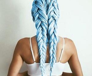 beautiful, dye, and longhair image