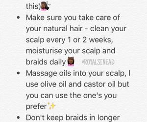 box braids and natural hair image