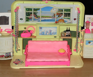 barbie, barbie dolls, and barbie house image