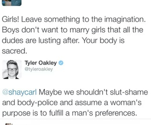 feminism, twitter, and tyler oakley image