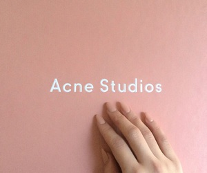 acne studios, acne, and pink image