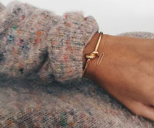 accessories, bracelet, and gold image