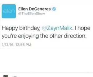 funny, one direction, and ellen image