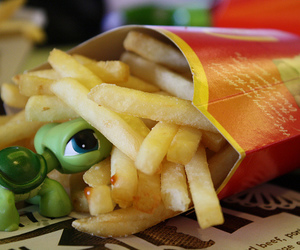 fast, food, and french image
