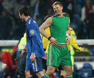 funny, goalkeeper, and manuel neuer image