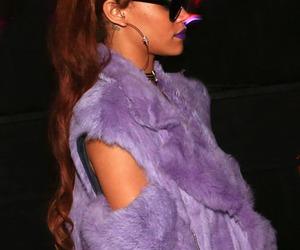 rihanna, coachella, and purple image